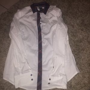 Tommy Hilfiger white button down NWT size small